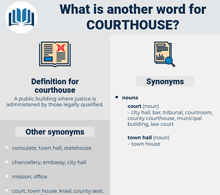 courthouse, synonym courthouse, another word for courthouse, words like courthouse, thesaurus courthouse