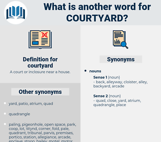 courtyard, synonym courtyard, another word for courtyard, words like courtyard, thesaurus courtyard