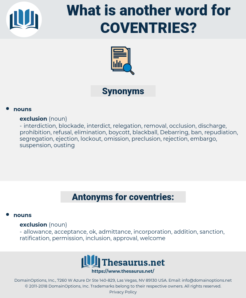 coventries, synonym coventries, another word for coventries, words like coventries, thesaurus coventries
