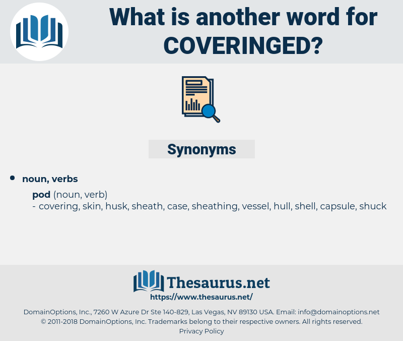 coveringed, synonym coveringed, another word for coveringed, words like coveringed, thesaurus coveringed