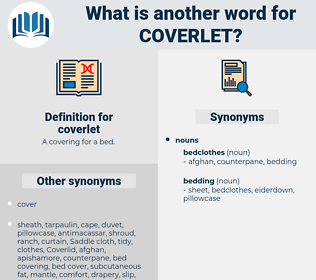 coverlet, synonym coverlet, another word for coverlet, words like coverlet, thesaurus coverlet