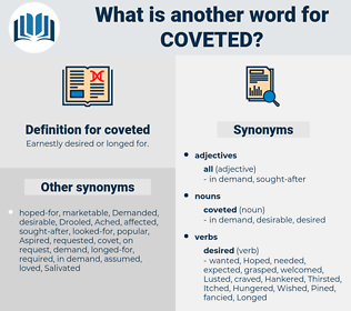 coveted, synonym coveted, another word for coveted, words like coveted, thesaurus coveted