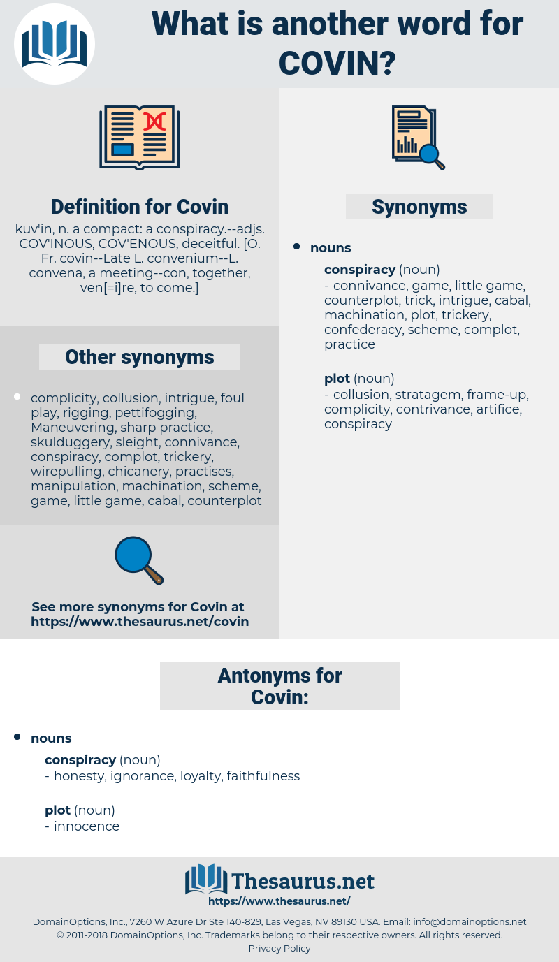 Covin, synonym Covin, another word for Covin, words like Covin, thesaurus Covin