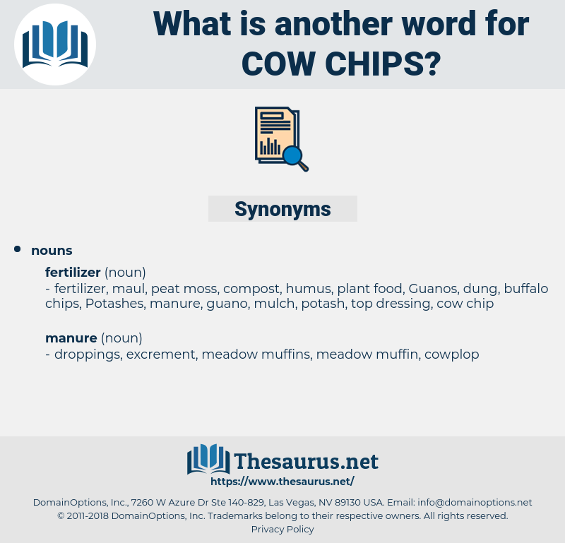 cow chips, synonym cow chips, another word for cow chips, words like cow chips, thesaurus cow chips