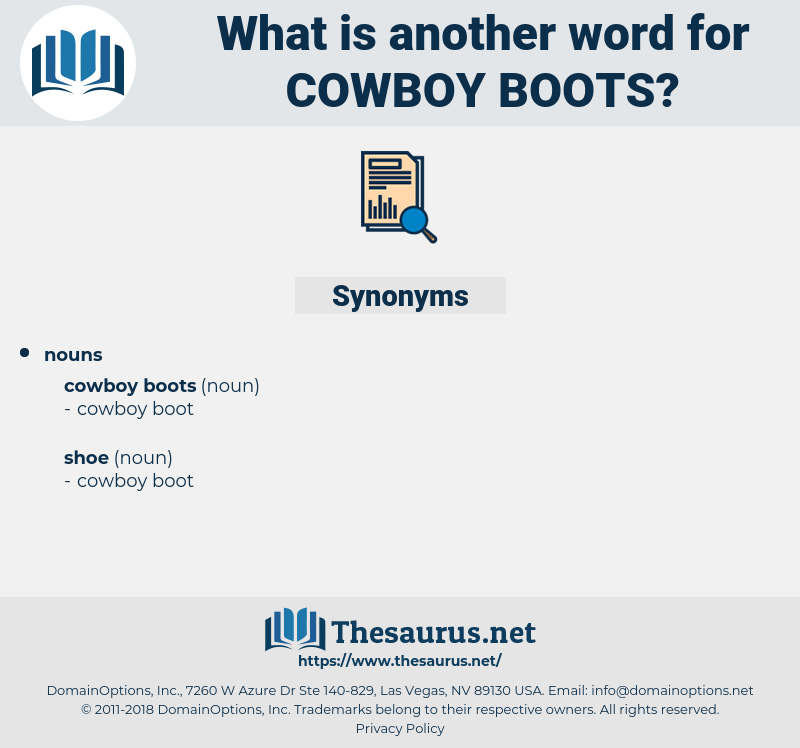 cowboy boots, synonym cowboy boots, another word for cowboy boots, words like cowboy boots, thesaurus cowboy boots