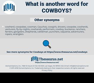 cowboys, synonym cowboys, another word for cowboys, words like cowboys, thesaurus cowboys