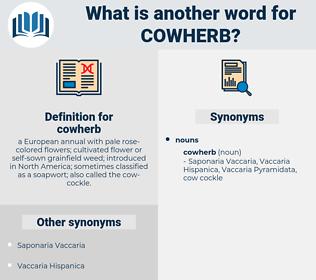 cowherb, synonym cowherb, another word for cowherb, words like cowherb, thesaurus cowherb