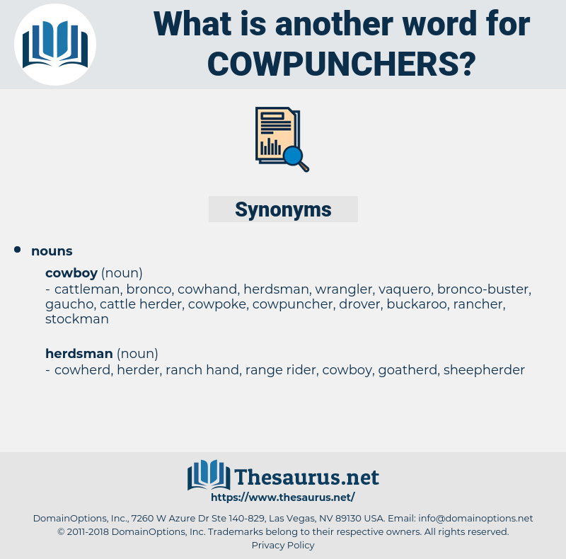 cowpunchers, synonym cowpunchers, another word for cowpunchers, words like cowpunchers, thesaurus cowpunchers