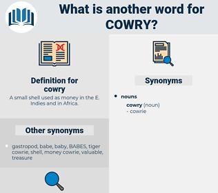 cowry, synonym cowry, another word for cowry, words like cowry, thesaurus cowry