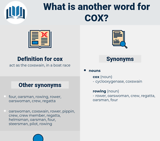 cox, synonym cox, another word for cox, words like cox, thesaurus cox