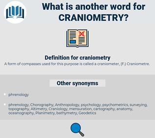 craniometry, synonym craniometry, another word for craniometry, words like craniometry, thesaurus craniometry