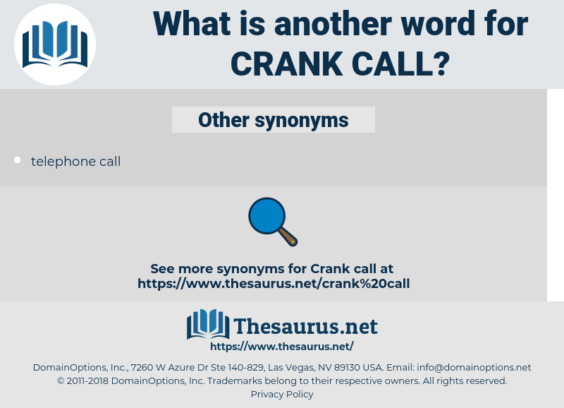 crank call, synonym crank call, another word for crank call, words like crank call, thesaurus crank call
