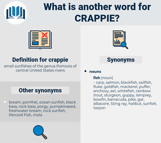 crappie, synonym crappie, another word for crappie, words like crappie, thesaurus crappie