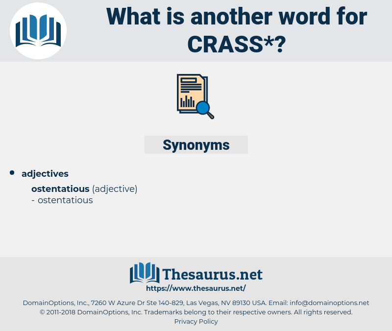 crass, synonym crass, another word for crass, words like crass, thesaurus crass