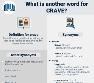 crave, synonym crave, another word for crave, words like crave, thesaurus crave