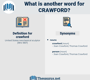 crawford, synonym crawford, another word for crawford, words like crawford, thesaurus crawford