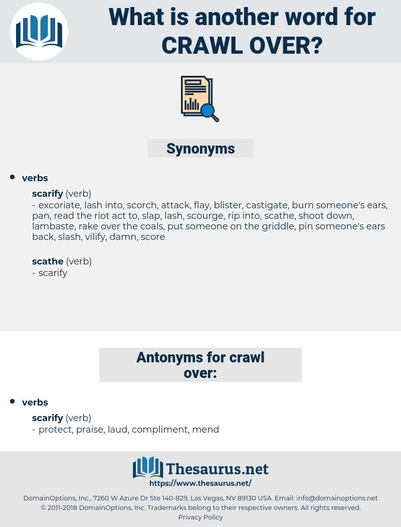 crawl over, synonym crawl over, another word for crawl over, words like crawl over, thesaurus crawl over