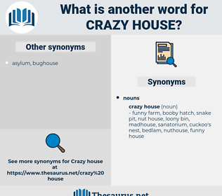 crazy house, synonym crazy house, another word for crazy house, words like crazy house, thesaurus crazy house