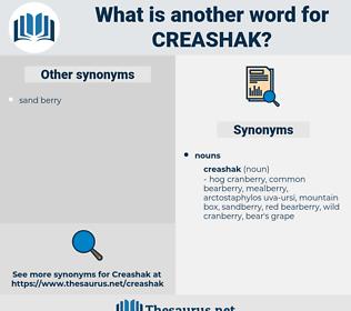 creashak, synonym creashak, another word for creashak, words like creashak, thesaurus creashak