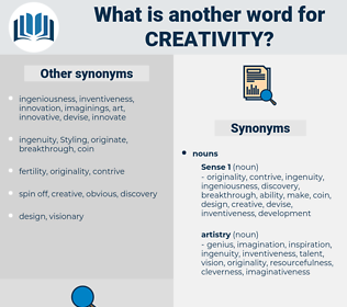 creativity, synonym creativity, another word for creativity, words like creativity, thesaurus creativity