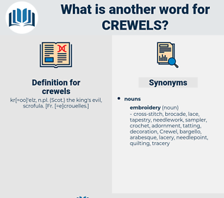 crewels, synonym crewels, another word for crewels, words like crewels, thesaurus crewels