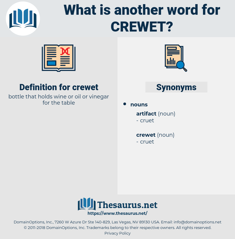 crewet, synonym crewet, another word for crewet, words like crewet, thesaurus crewet
