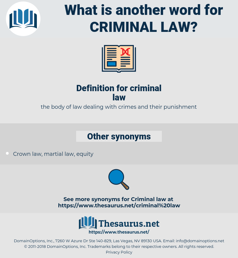 criminal law, synonym criminal law, another word for criminal law, words like criminal law, thesaurus criminal law