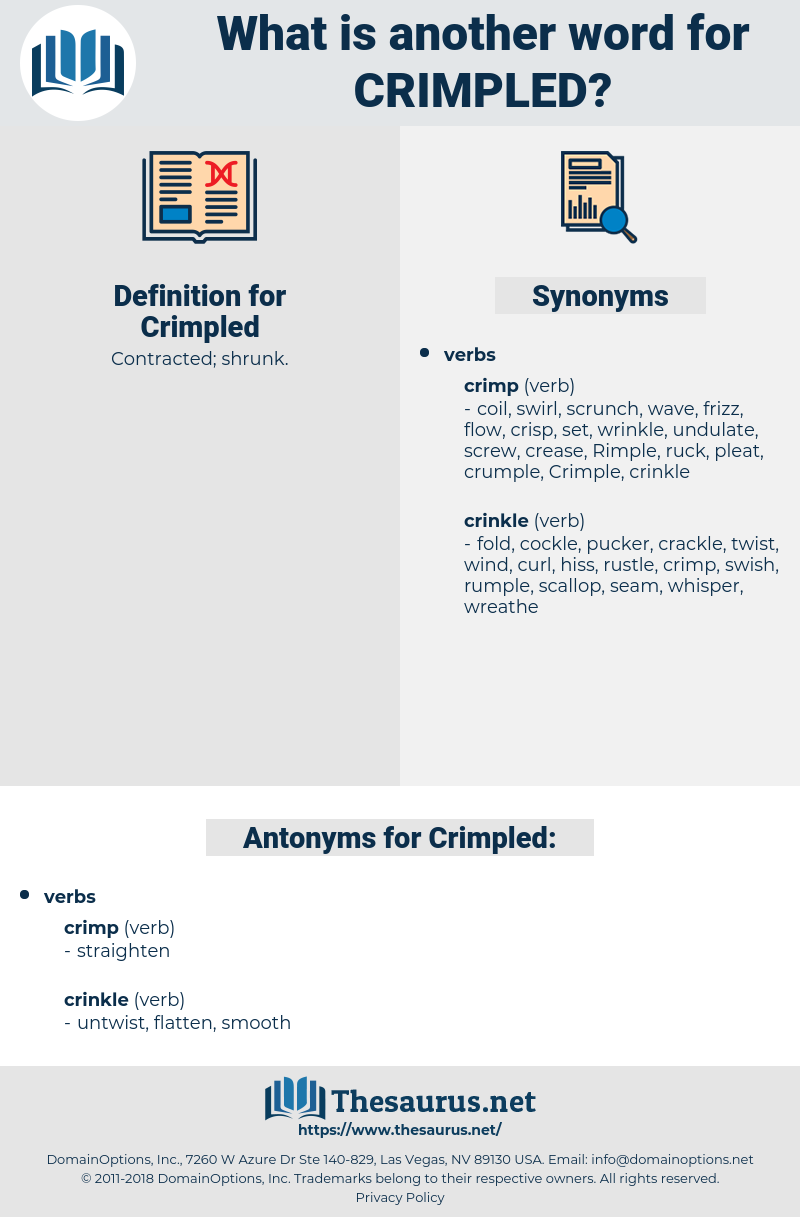 Crimpled, synonym Crimpled, another word for Crimpled, words like Crimpled, thesaurus Crimpled