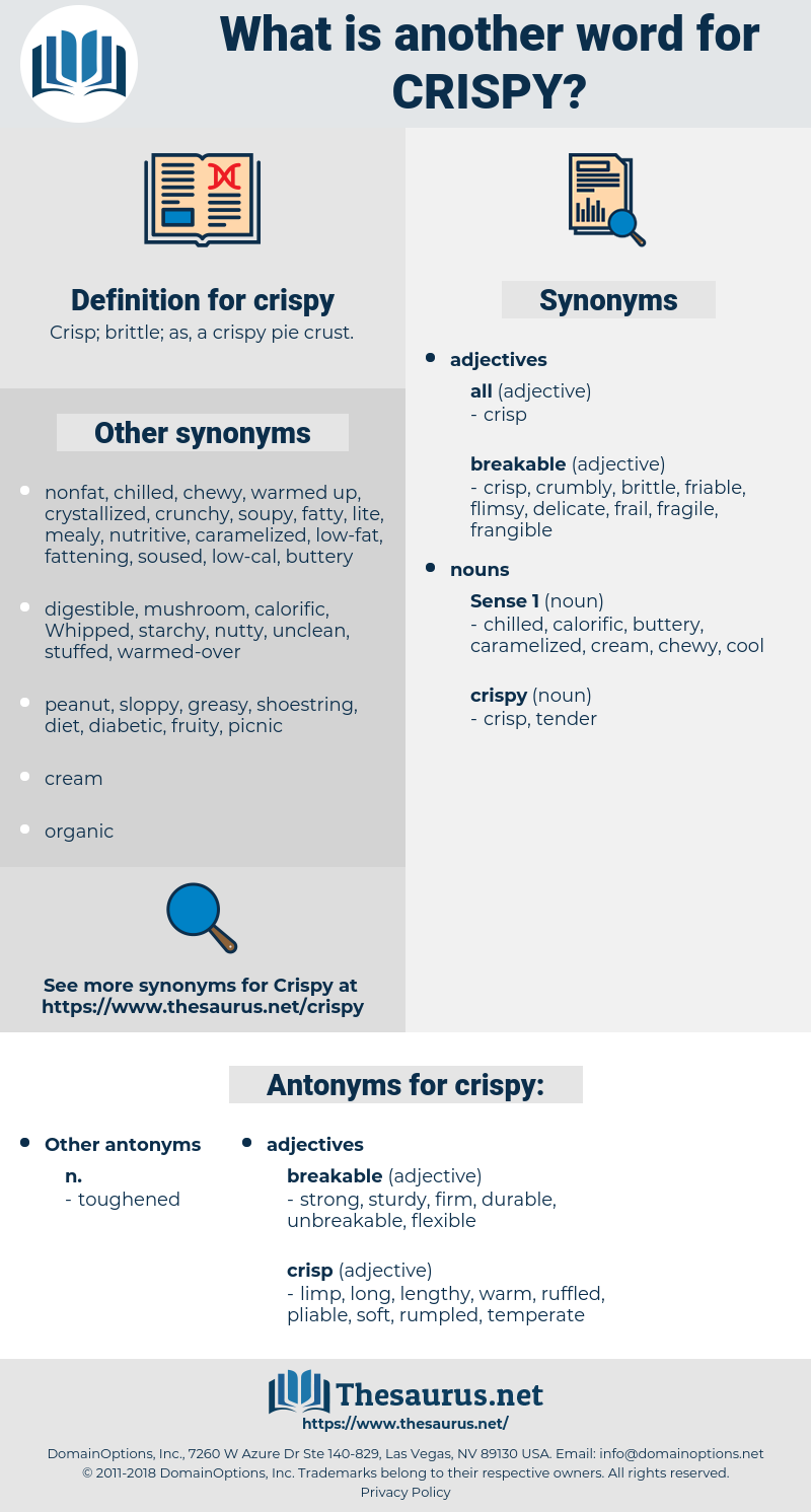 crispy, synonym crispy, another word for crispy, words like crispy, thesaurus crispy