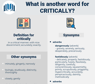 critically, synonym critically, another word for critically, words like critically, thesaurus critically
