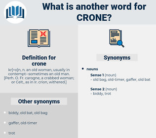 crone, synonym crone, another word for crone, words like crone, thesaurus crone