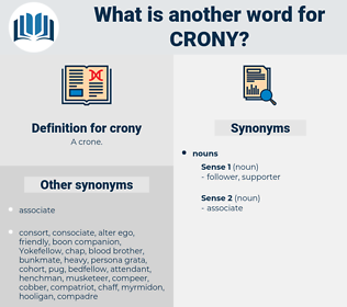 crony, synonym crony, another word for crony, words like crony, thesaurus crony