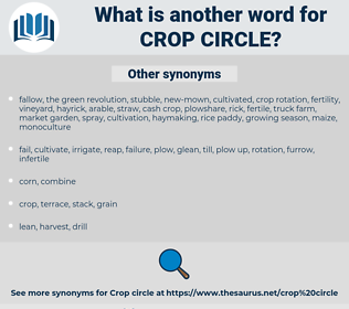 crop circle, synonym crop circle, another word for crop circle, words like crop circle, thesaurus crop circle