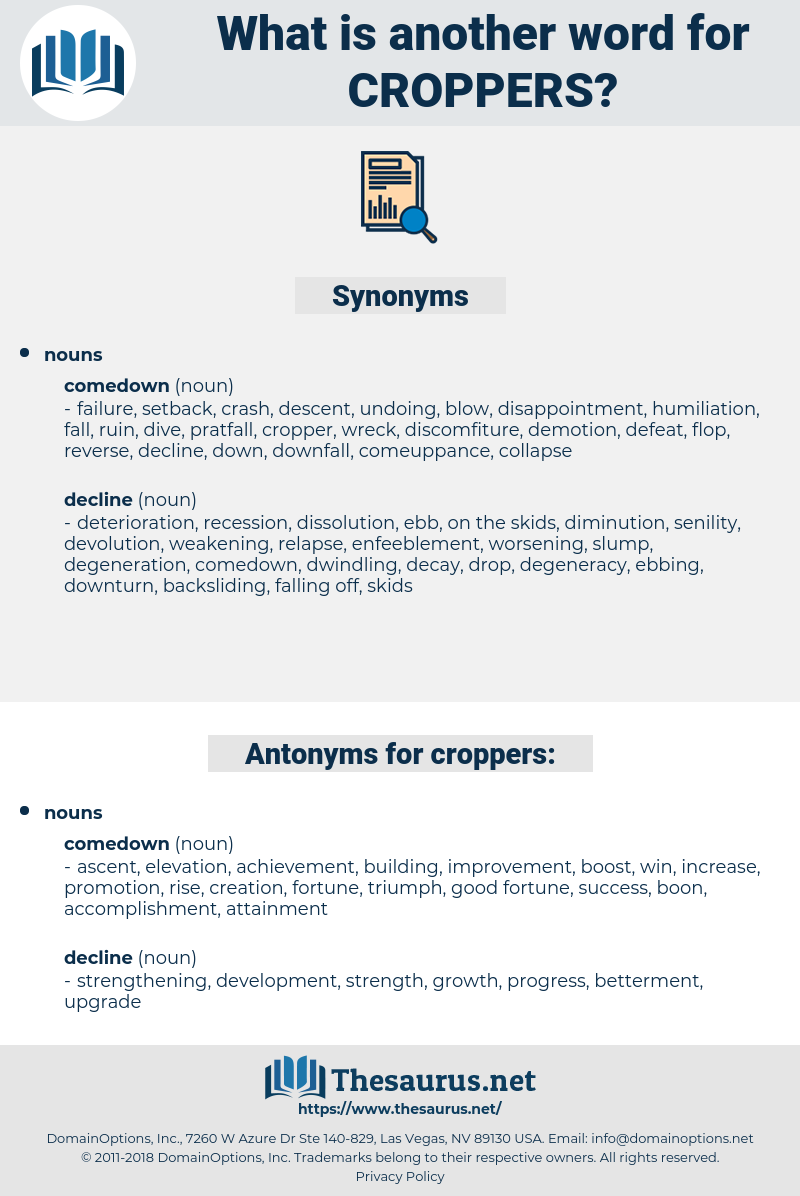 croppers, synonym croppers, another word for croppers, words like croppers, thesaurus croppers