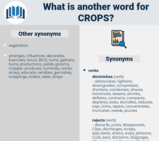 crops, synonym crops, another word for crops, words like crops, thesaurus crops