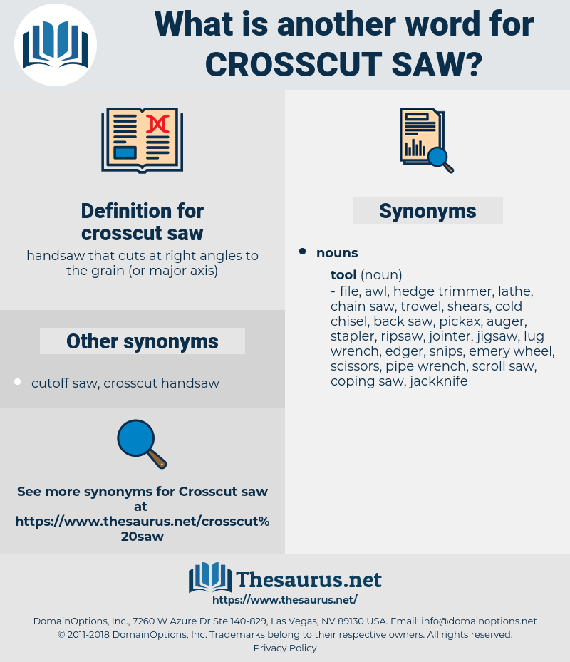 crosscut saw, synonym crosscut saw, another word for crosscut saw, words like crosscut saw, thesaurus crosscut saw