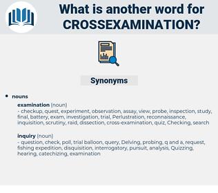 crossexamination, synonym crossexamination, another word for crossexamination, words like crossexamination, thesaurus crossexamination