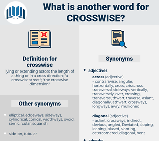 crosswise, synonym crosswise, another word for crosswise, words like crosswise, thesaurus crosswise