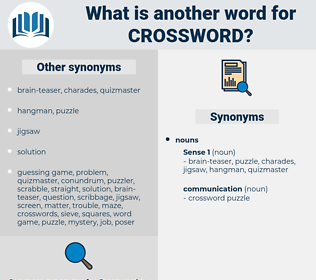 crossword, synonym crossword, another word for crossword, words like crossword, thesaurus crossword