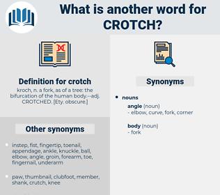 crotch, synonym crotch, another word for crotch, words like crotch, thesaurus crotch