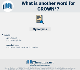 crown, synonym crown, another word for crown, words like crown, thesaurus crown