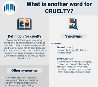 cruelty, synonym cruelty, another word for cruelty, words like cruelty, thesaurus cruelty