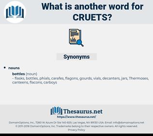cruets, synonym cruets, another word for cruets, words like cruets, thesaurus cruets