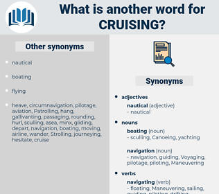 Cruising, synonym Cruising, another word for Cruising, words like Cruising, thesaurus Cruising