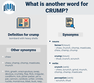 crump, synonym crump, another word for crump, words like crump, thesaurus crump