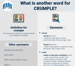 crumple, synonym crumple, another word for crumple, words like crumple, thesaurus crumple