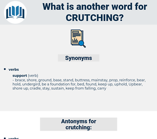 crutching, synonym crutching, another word for crutching, words like crutching, thesaurus crutching