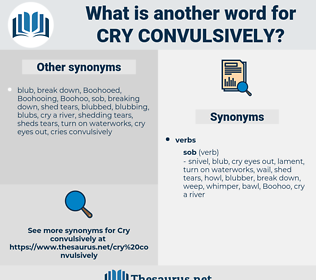 cry convulsively, synonym cry convulsively, another word for cry convulsively, words like cry convulsively, thesaurus cry convulsively