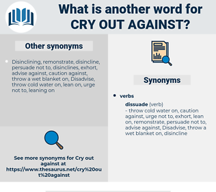 cry out against, synonym cry out against, another word for cry out against, words like cry out against, thesaurus cry out against