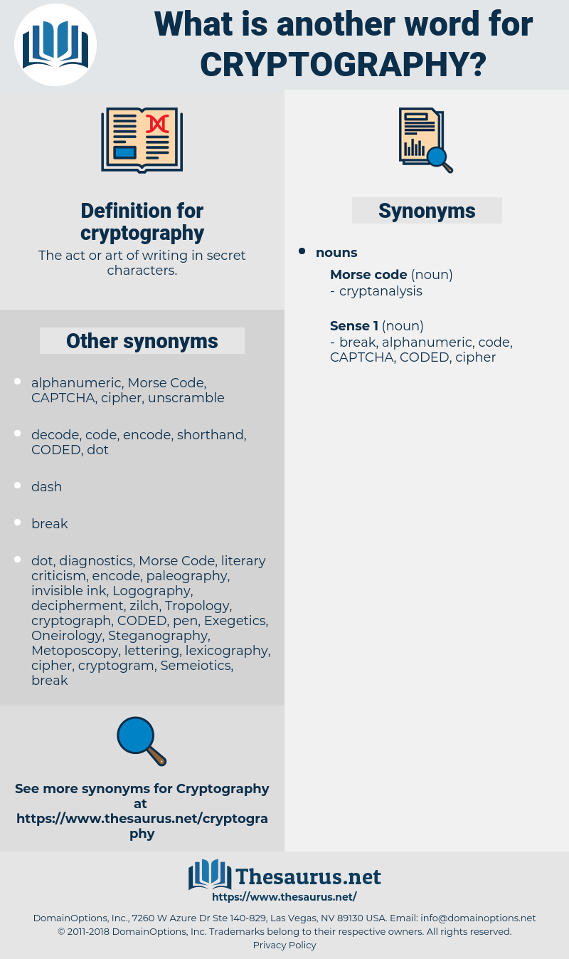 cryptography, synonym cryptography, another word for cryptography, words like cryptography, thesaurus cryptography
